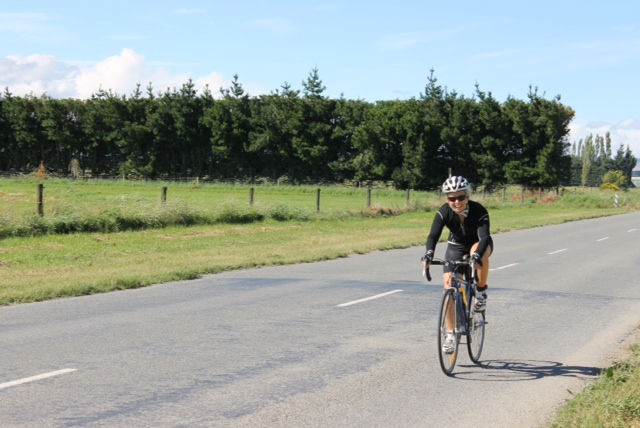 Final bike back into Methven, almost there!