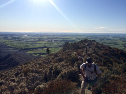 Looking back over the Canterbury Plains towards Methven