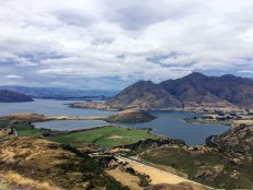 Looking back down over West Wanaka