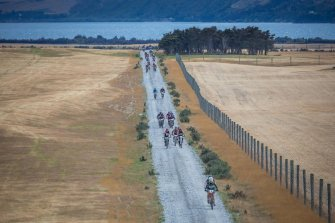 The long way to the finish line © Miles Holden