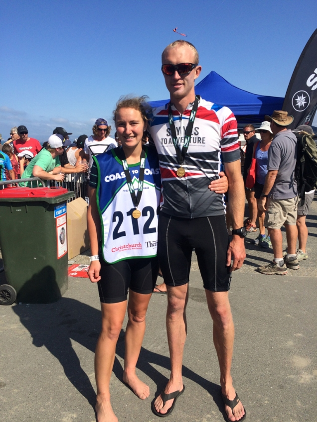 Lucy Murray and Scotty - well done you two!